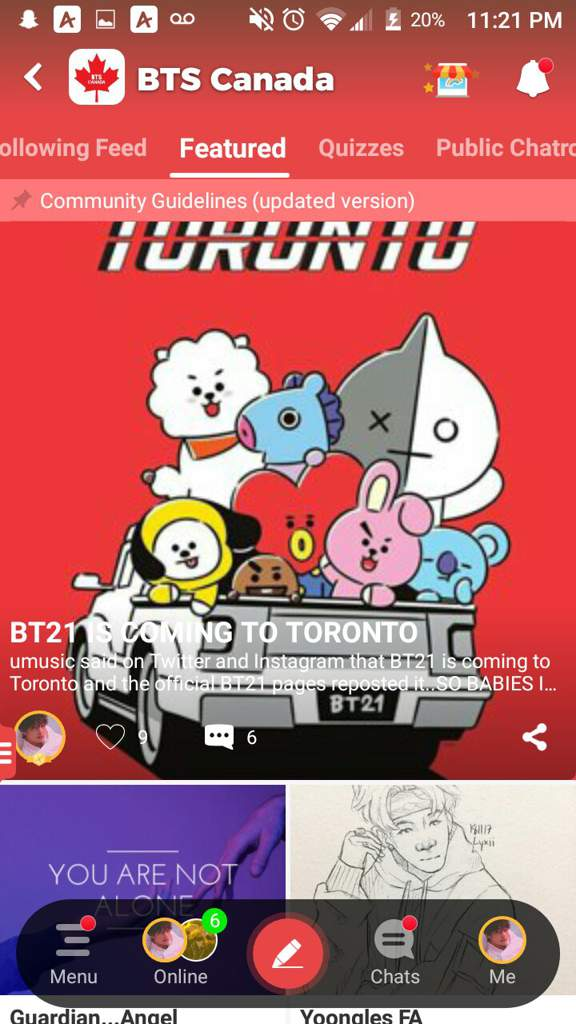 BT21 IS COMING TO TORONTO | BTS Canada Amino