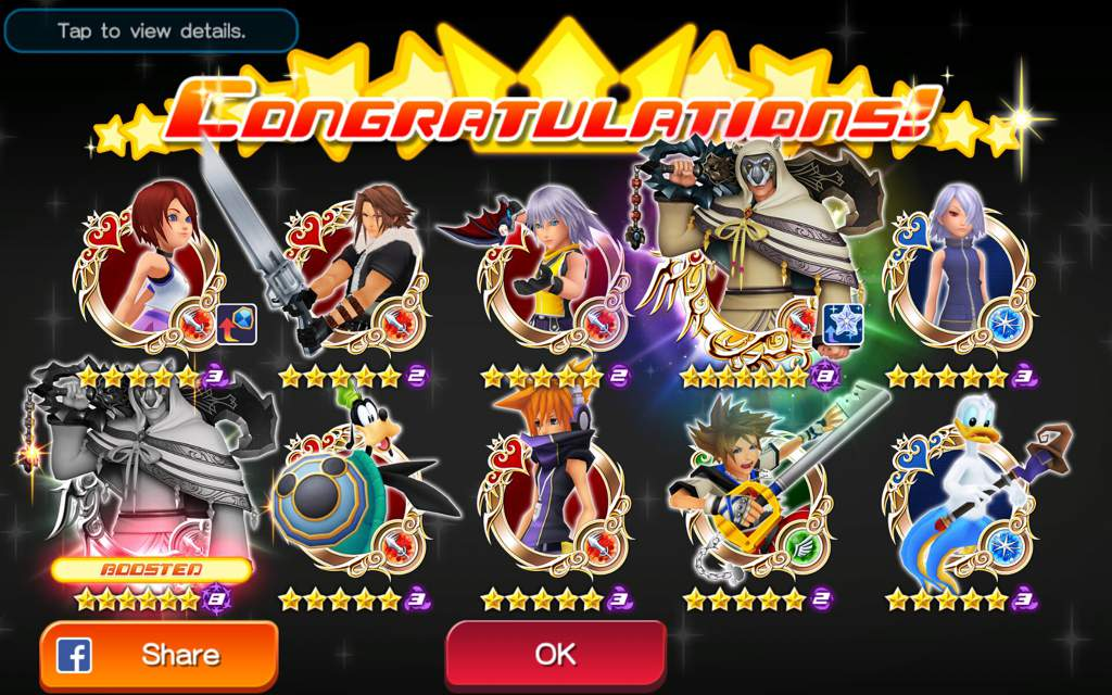 Black driday pull! I also got an Ira and a new gula booster