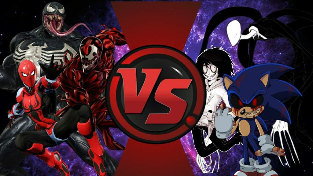 comic venom comic carnage comic spiderman vs creppypasta