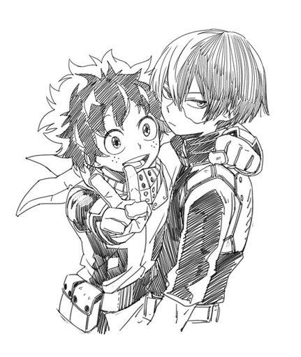 Todoroki x Deku=Tododeku   My Hero Academia Amino