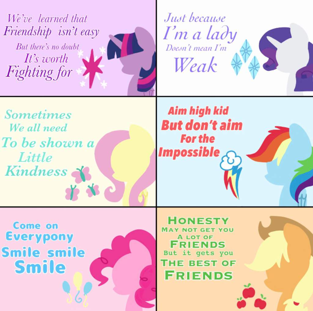 Inspirational Friendship Quotes Equestria Unofficial Fan Club Amino