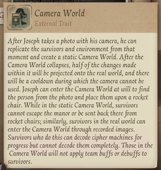 The Photographer   Identity V Official Amino