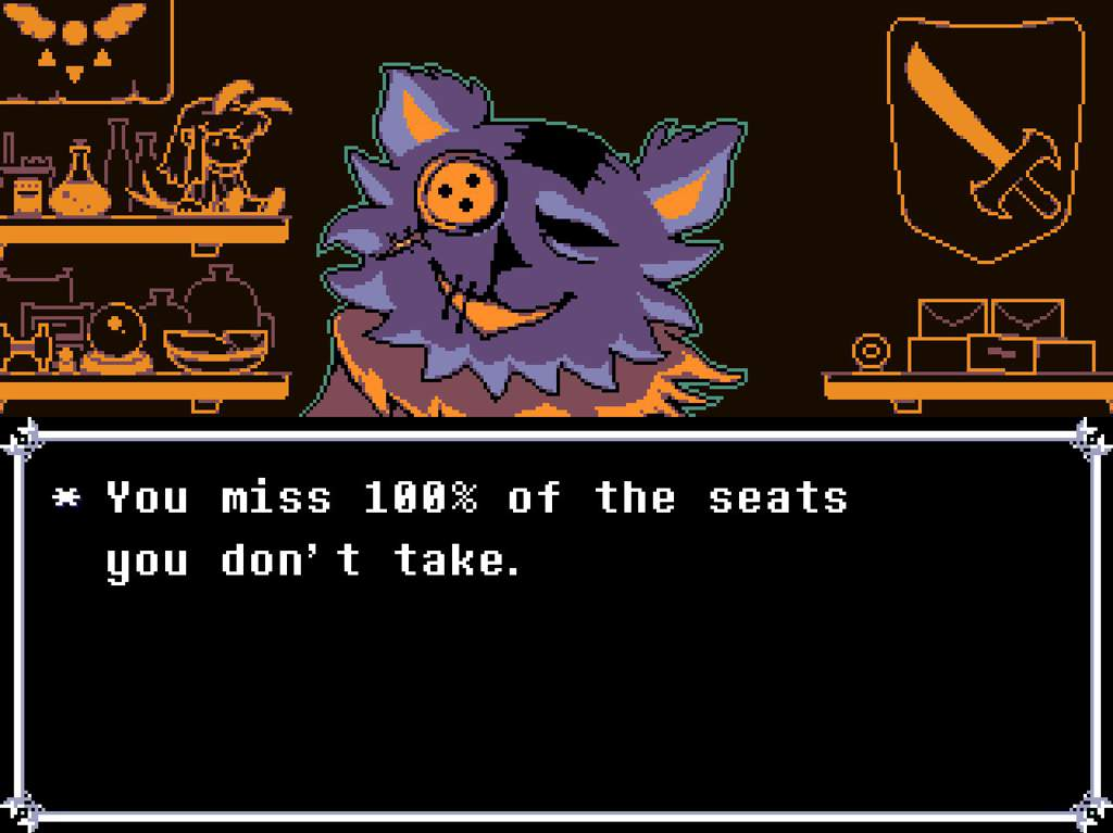 Seam x Jevil Fan-Fic (short) | Deltarune  Amino