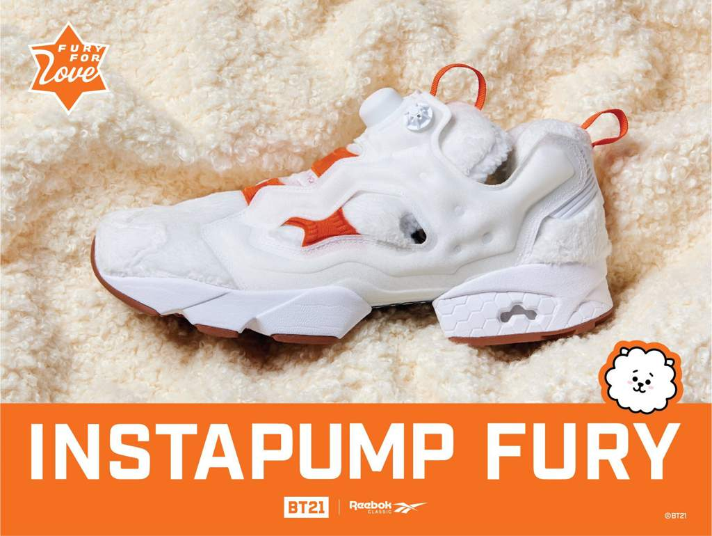 19ff4914db80 Reebok Classic Korea showed the image of MANG Version.  BT21 INSTAPUMP FURY  MANG