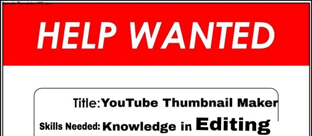 Help Wanted: Thumbnail Maker | Plants vs Zombies Heroes Amino