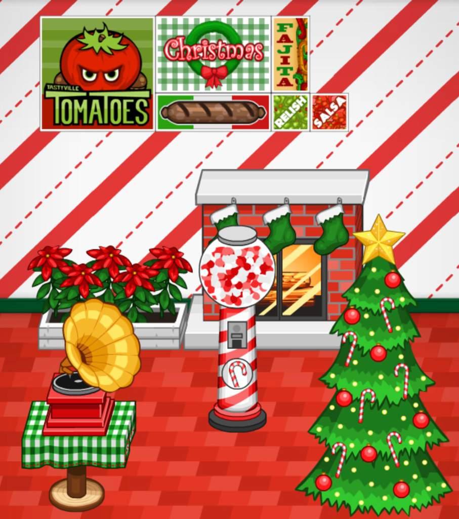Christmas Lobby Theme Challenge Papa S Franchise Amino