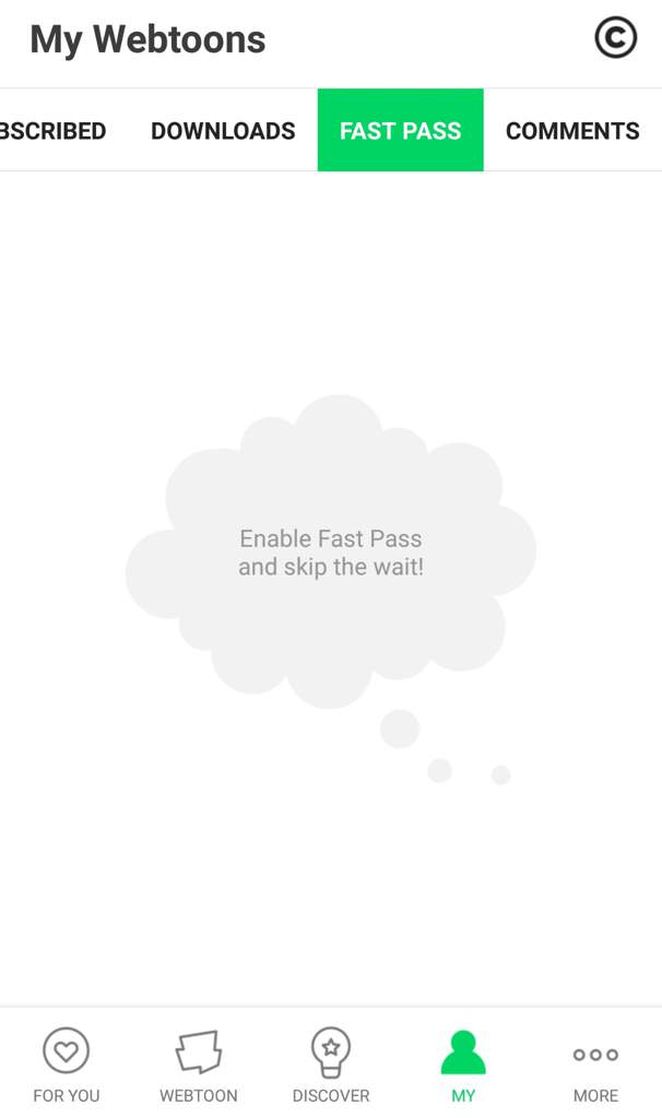 Top Five Webtoon Fastpass Free - Circus
