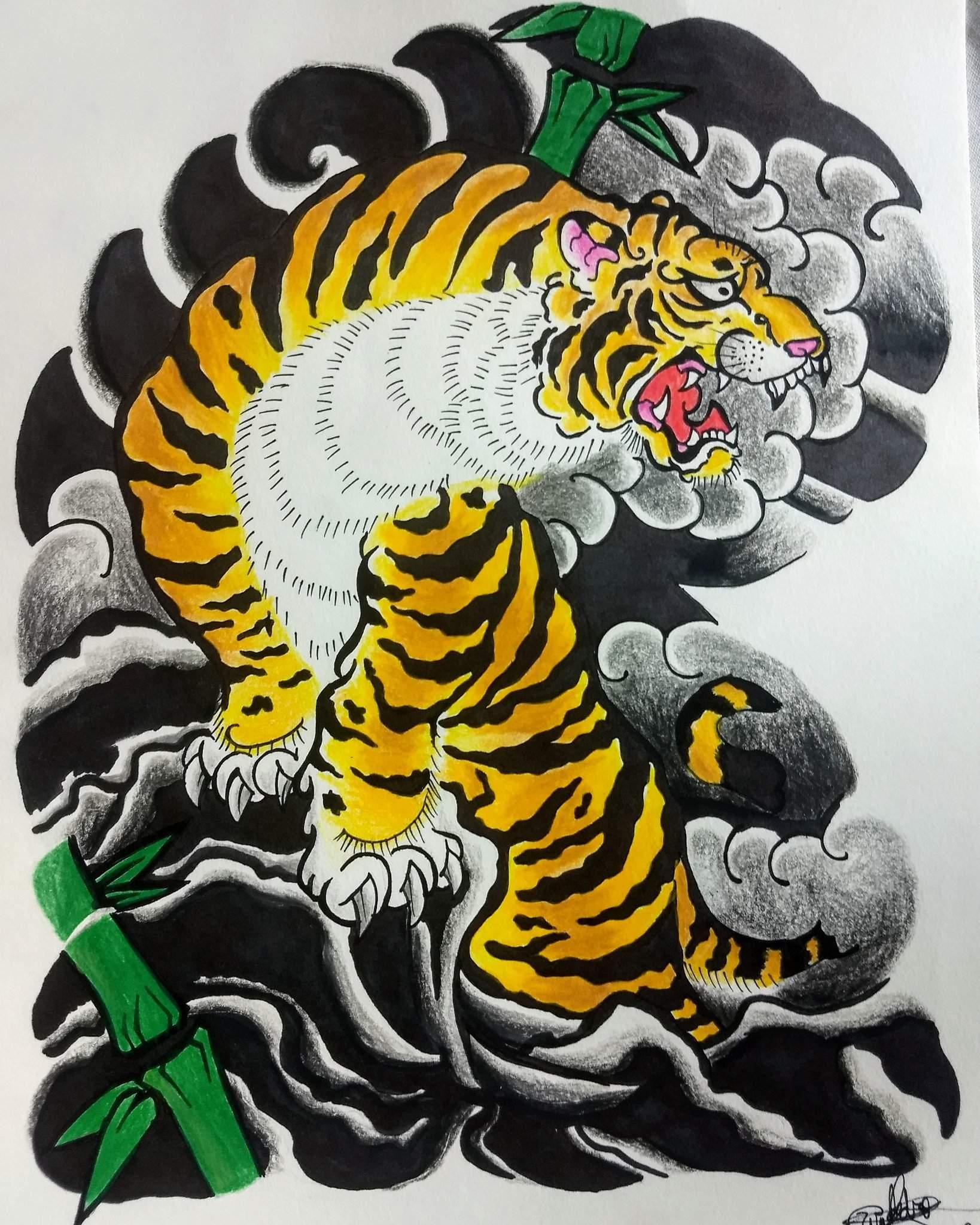 Tema Oriental Tora Tattoo