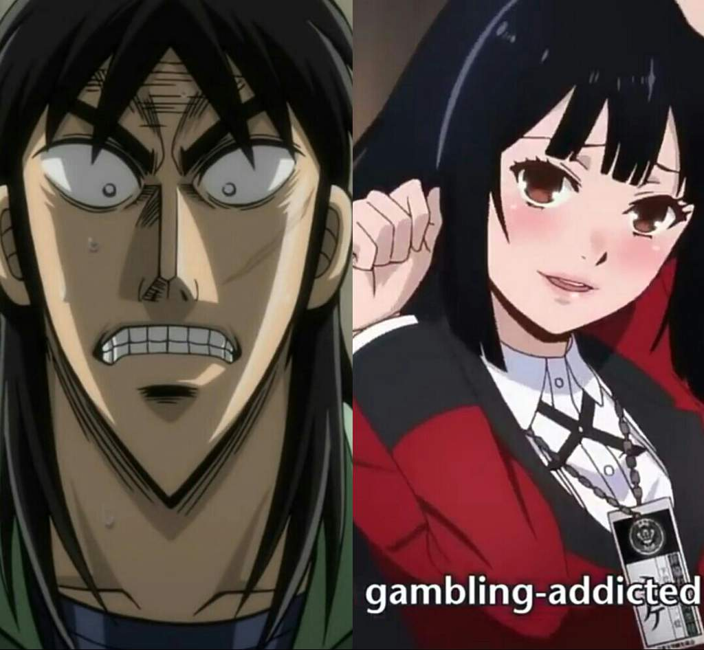 kakegurui than anime gambling better