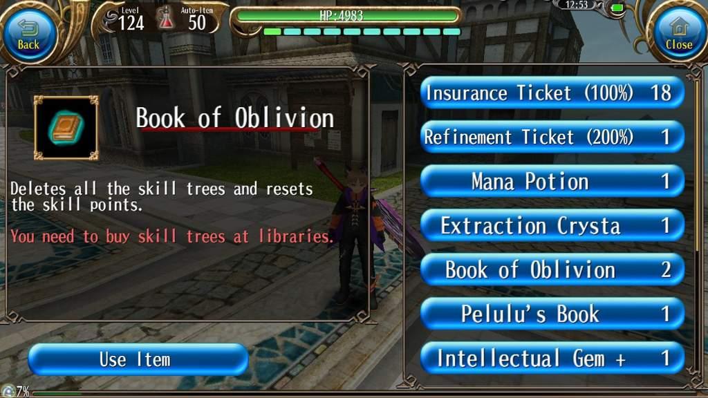 Book of oblivion | Toram Online Amino
