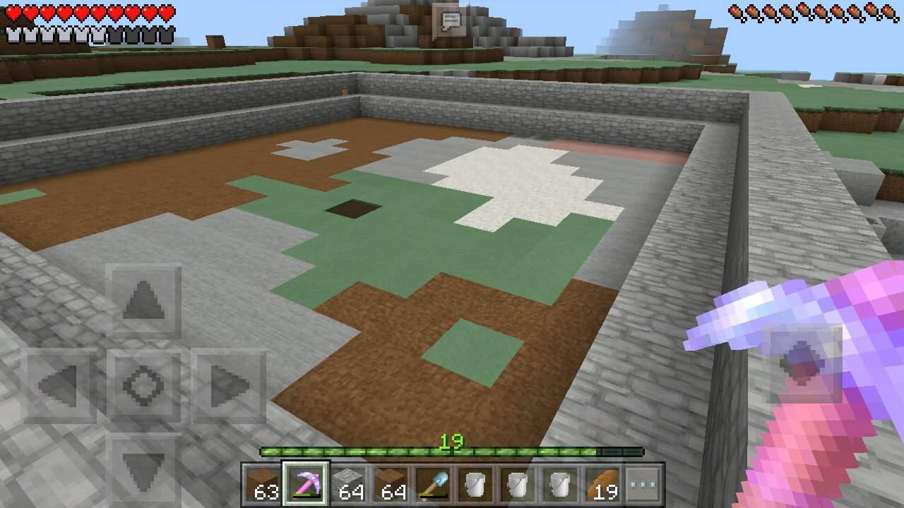 Minecraft Para Iniciantes #8  Farm de Ferro Dupla  Minecraft