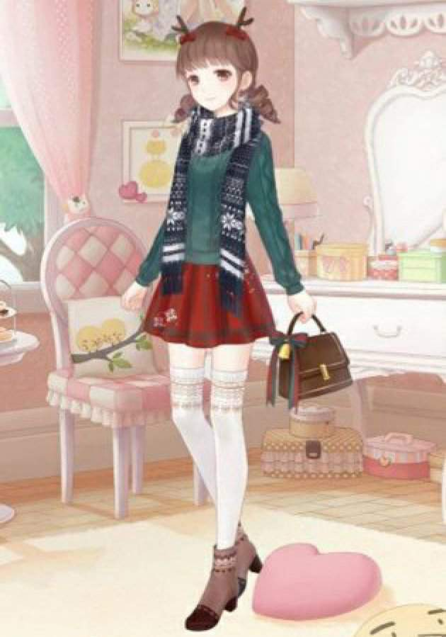 821e857ccb9 Christmas Challenge Entry | Love Nikki Dress Up Queen Amino