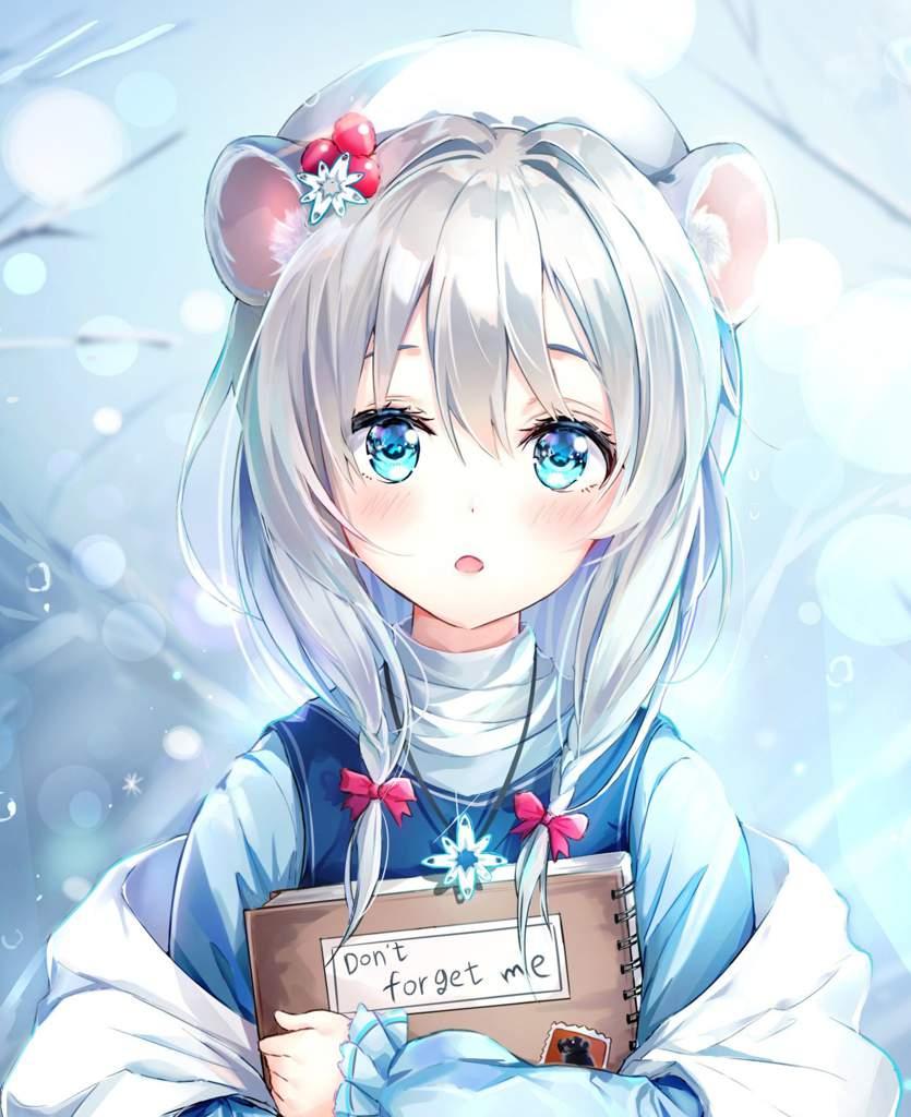 Anime Girl White Hair Anime Amino