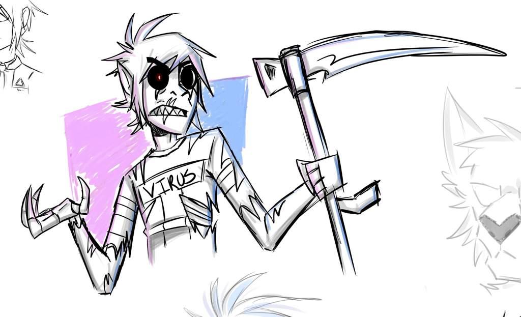 2D sketch page + comic update   Gorillaz Amino