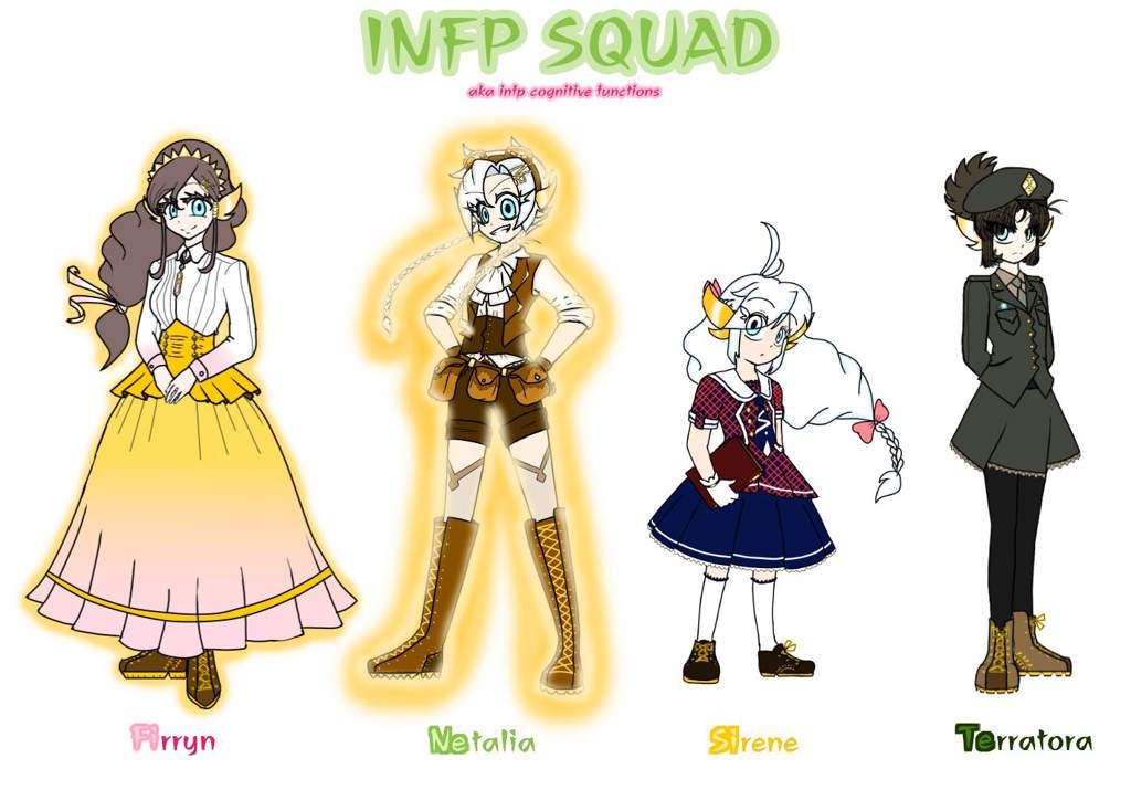 INFP SQUAD | Myers Briggs [MBTI] Amino