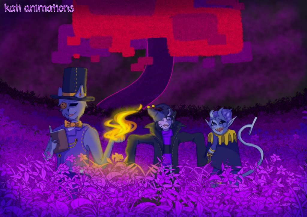 old memories [seam, jevil and my oc] | Deltarune  Amino