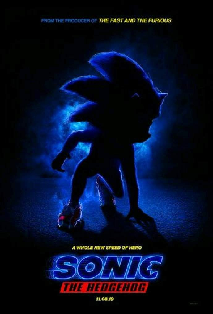 Ideas On The Movie Poster Sonic The Hedgehog Amino