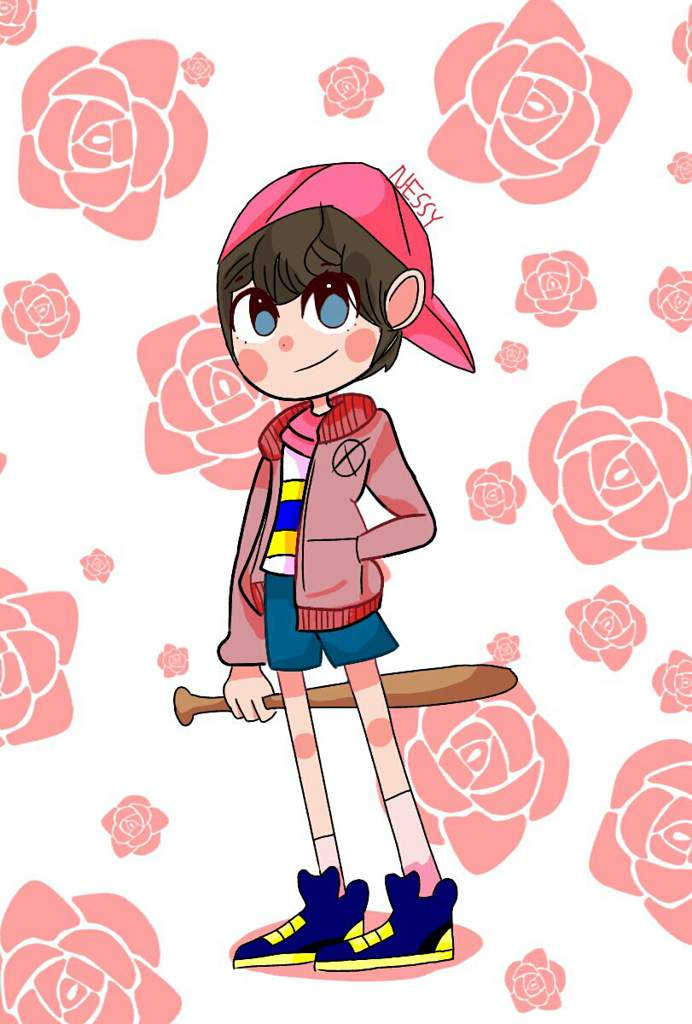 🌸Cherry ninten🌸 [Inspired] ( AGAIN!!!) | EarthBound Amino