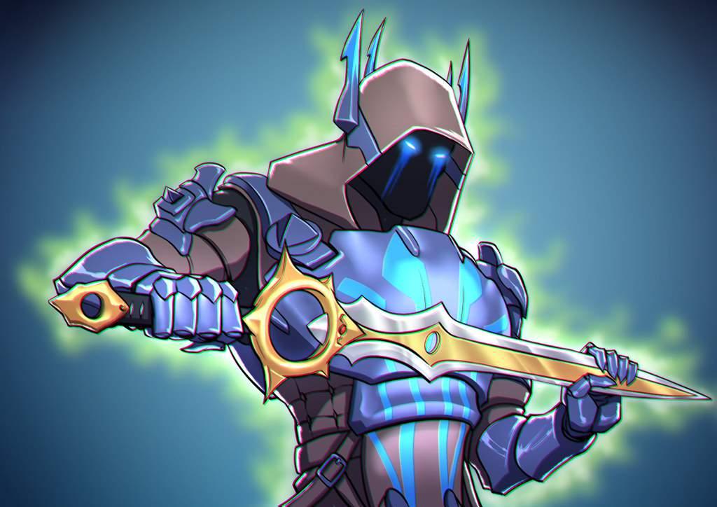 I HAAAAAVE THA PAWAAAAAH ! Fortnite Ice King X infinity