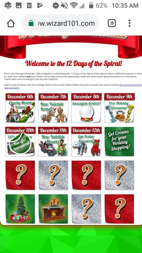 12 Days of the spiral| Day 8{FREE PACK} | Wizard101 Amino