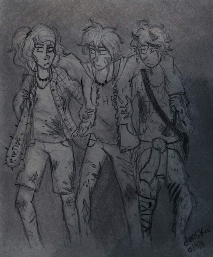 The Original Trio Zombie Apocalypse Au Halfblood Amino