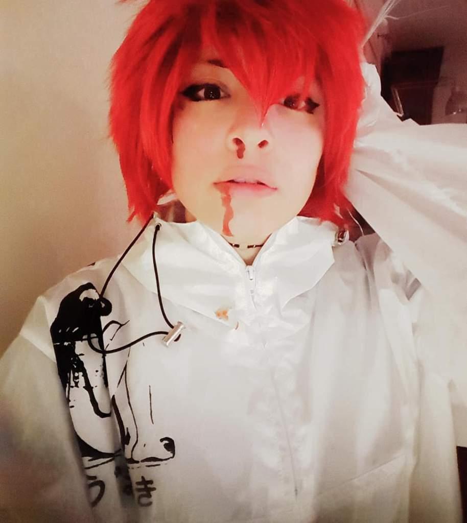 Kirishima With Hair Down Cosplay Lol It S Been A While My Hero