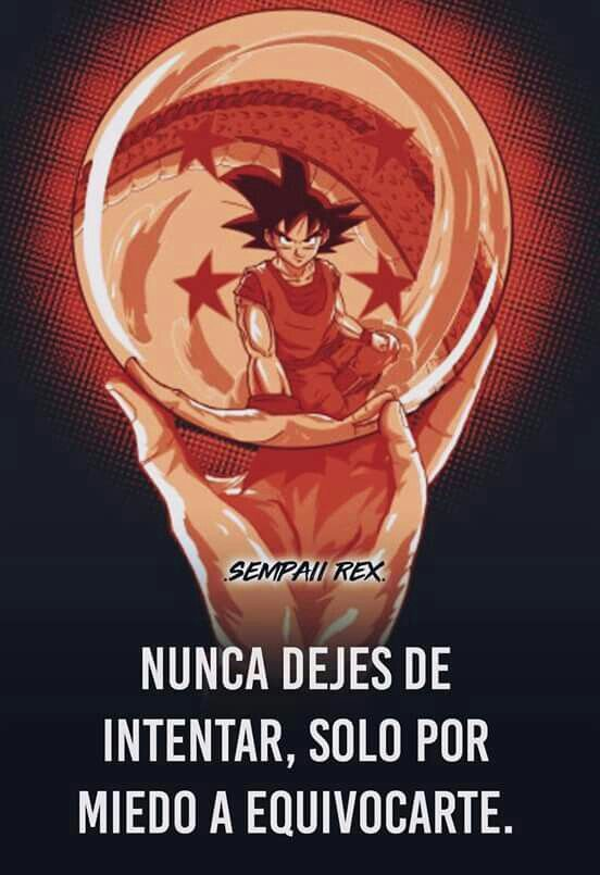 Frases De Motivación Dragon Ball Super Oficial Amino