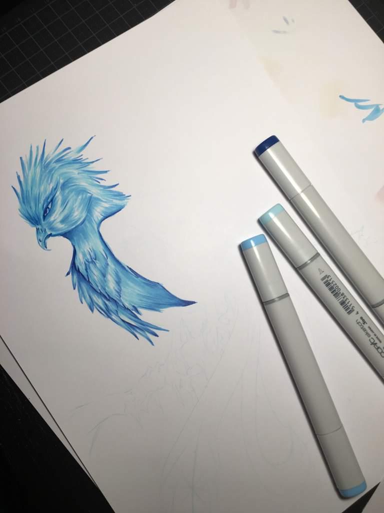 There Marker Challenge Ice Bird Art Amino