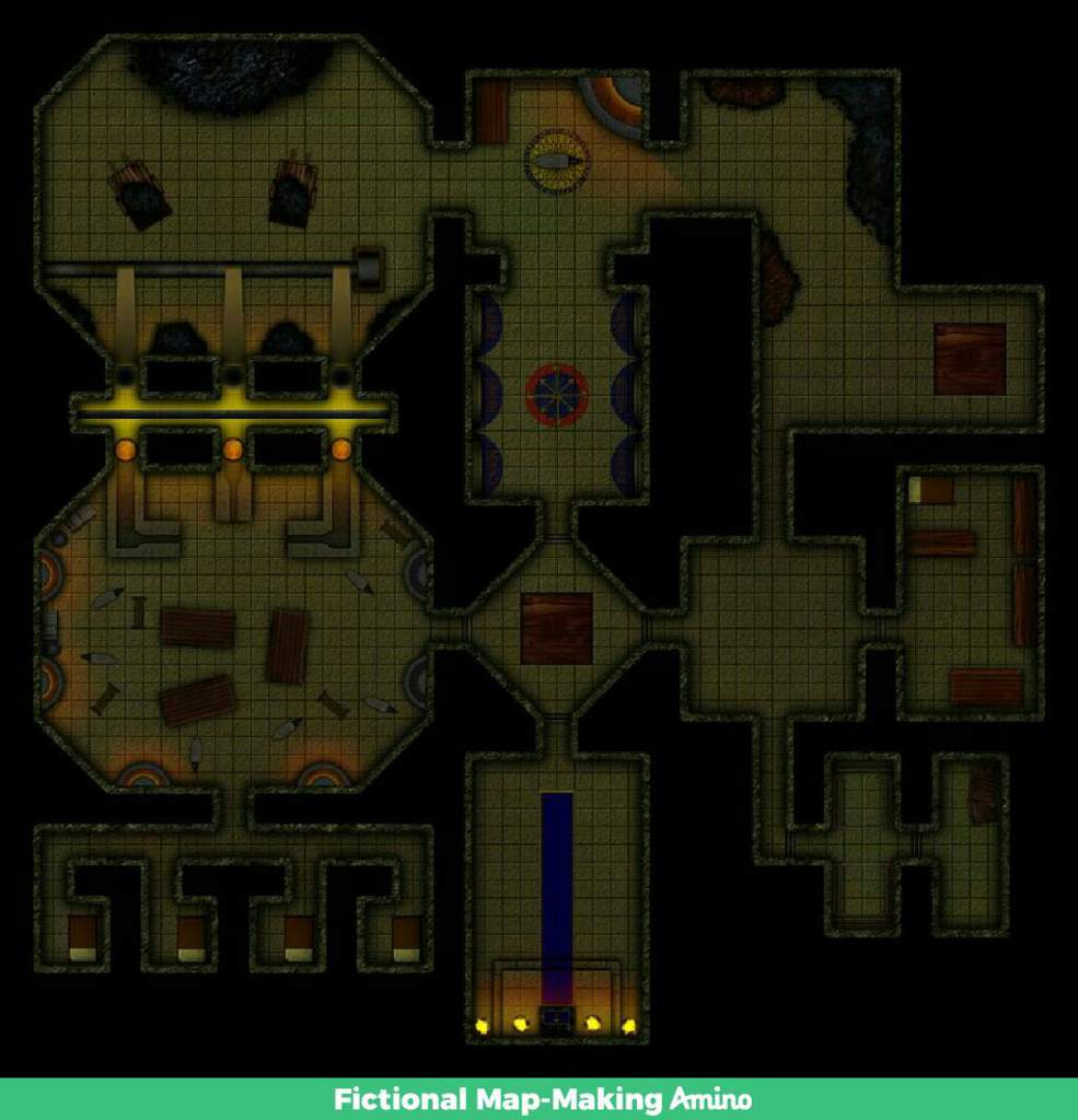 Dwarven Forge VTT Dungeon Map | Fictional Map-Making Amino on