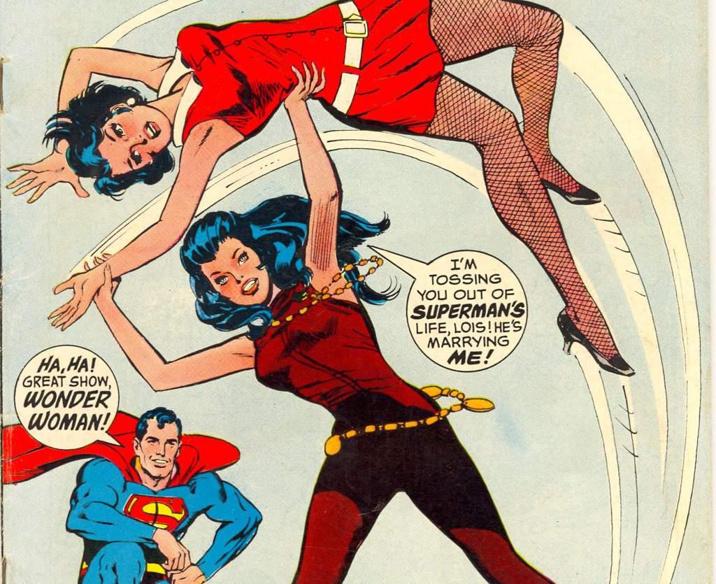 superman and wonder woman hook up