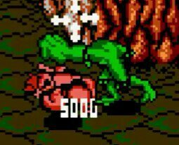 Rash from the battletoads gives the boot to this moveset