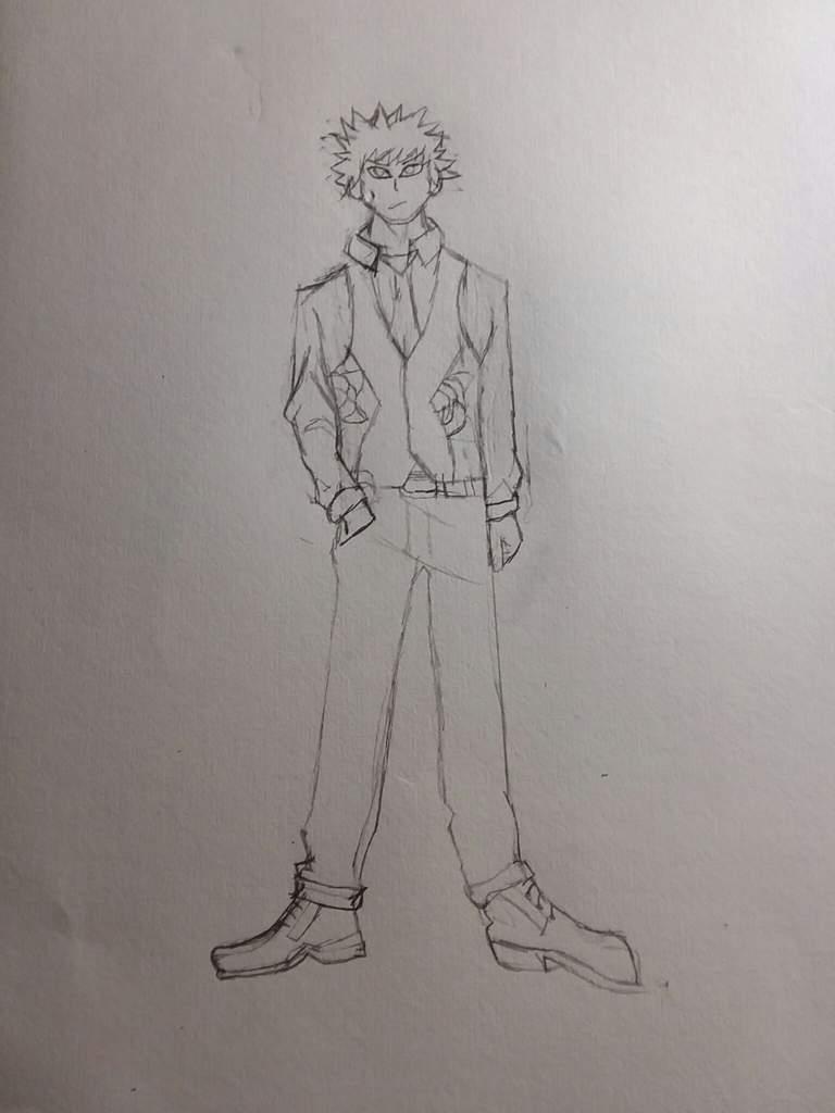 Katsuki Bakugou two heroes fanart | My Hero Academia Amino