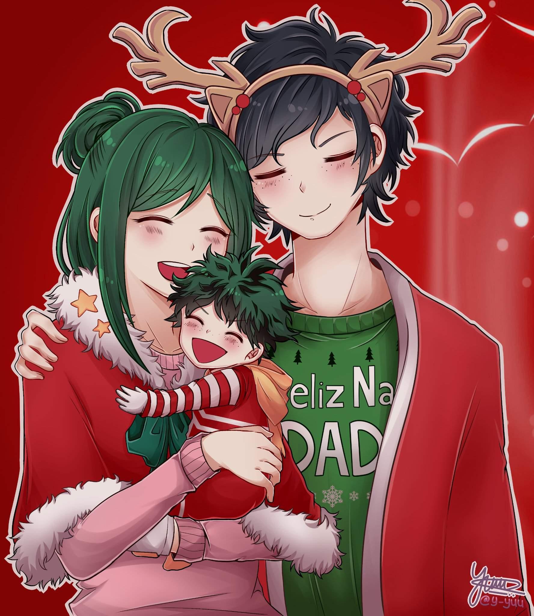 Midoriya Household S Christmas My Hero Academia Amino