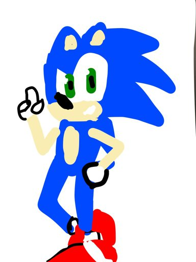 Finger Sonic The Hedgehog Amino
