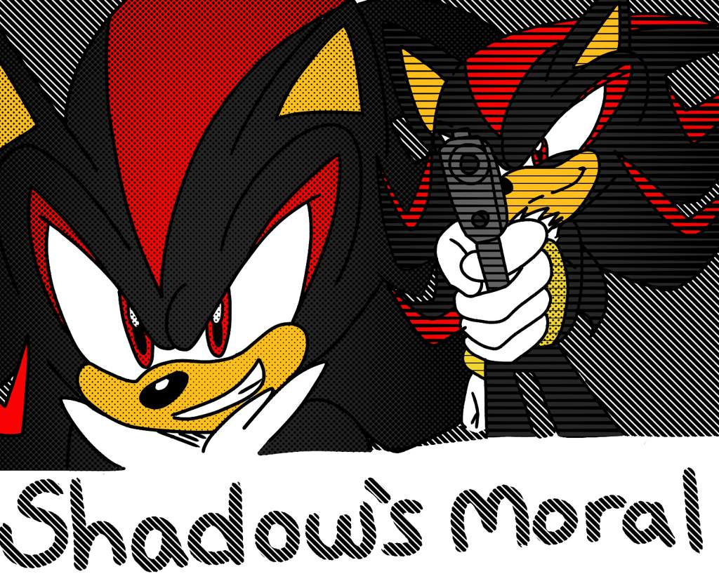 Shadow S Alignment Confusing Is He Really Neutral Or Actually Evil Sonic The Hedgehog Amino