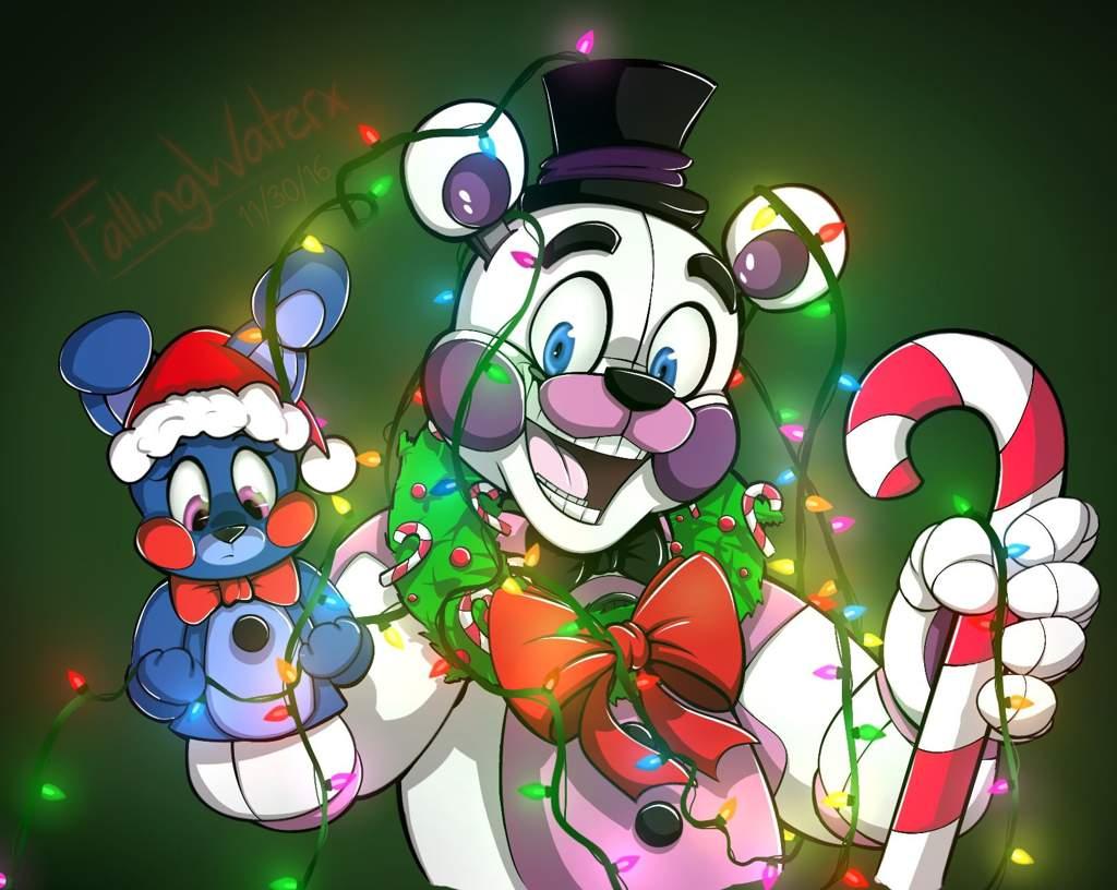 Fnaf Christmas.Merry Fnaf Xmas Five Nights At Freddy S Amino