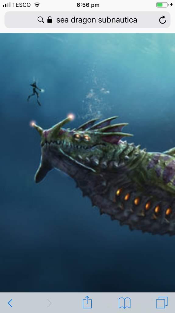 Sea dragon   Subnautica💧 Amino