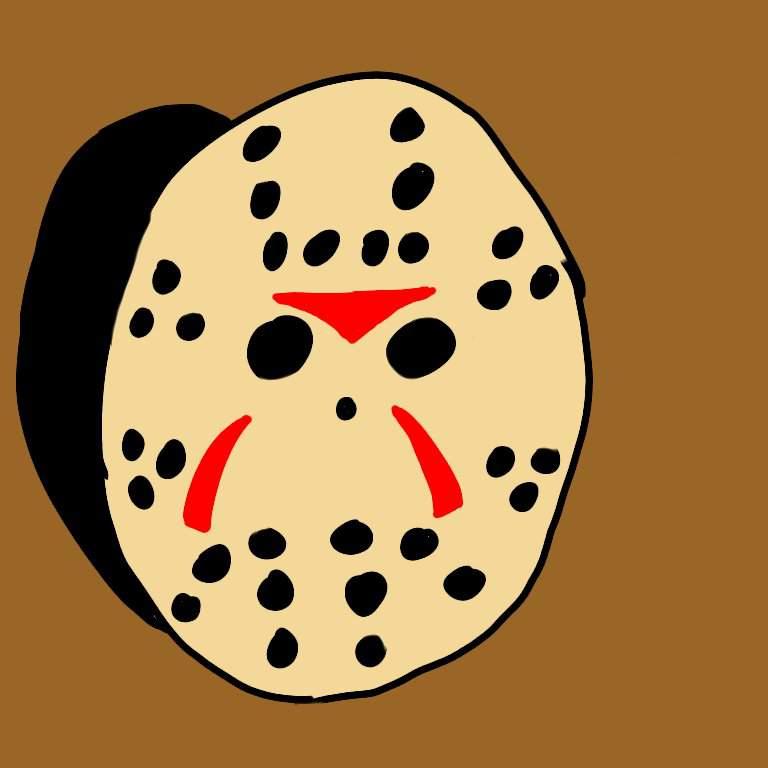 Part 3 Jason Mask Digital Drawing Friday The 13th Franchise Amino