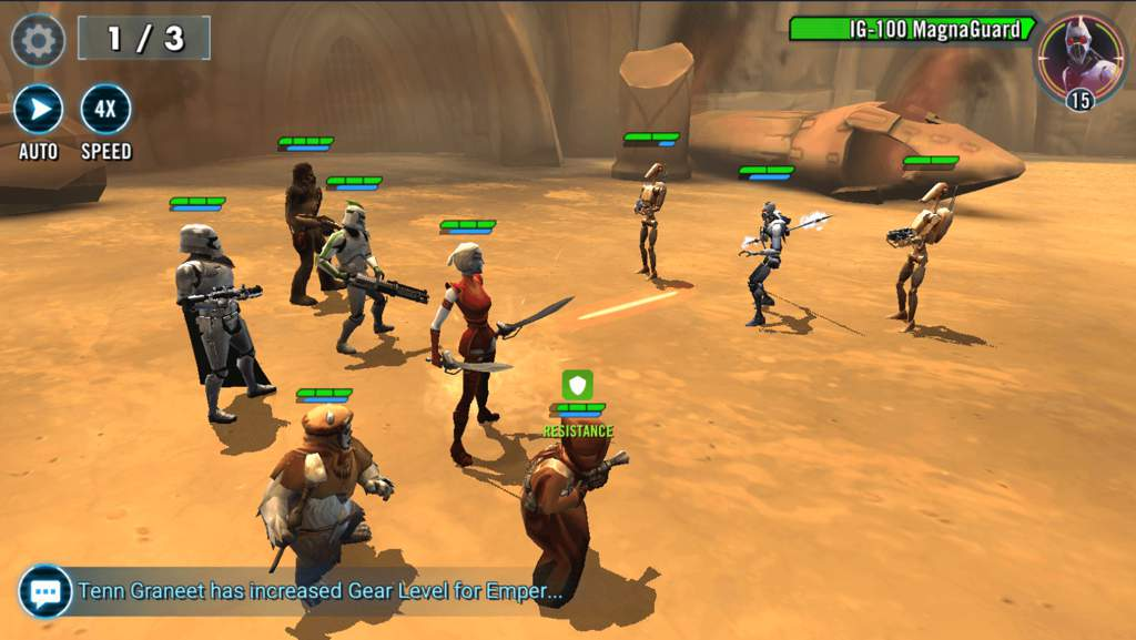 Star Wars™: Galaxy of Heroes android and PC | Mobile Game Amino