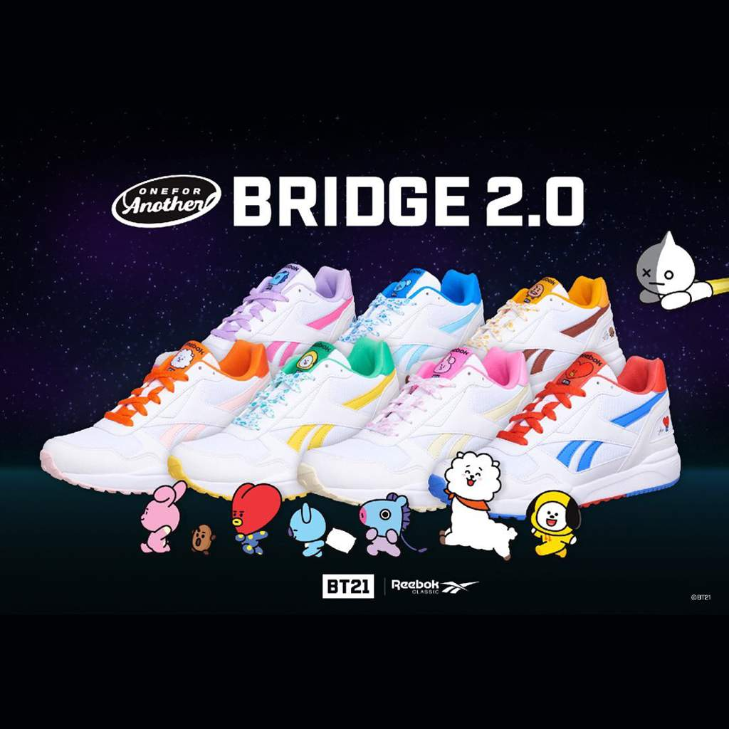 62d7dcab30ff1 NEWS  BT21 ROYAL x Reebok Classic Collaboration