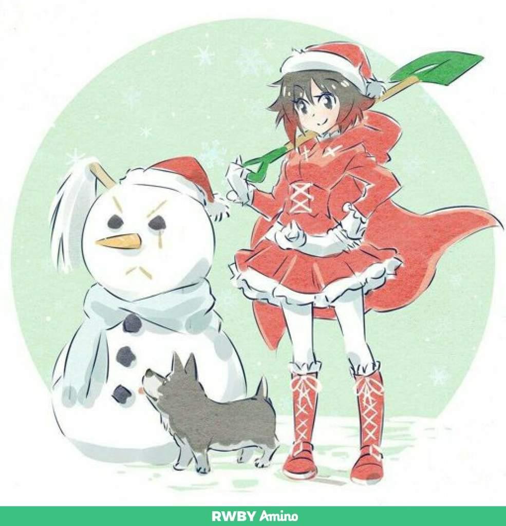 Rwby Christmas.Merry Christmas Rwbya Rwby Amino