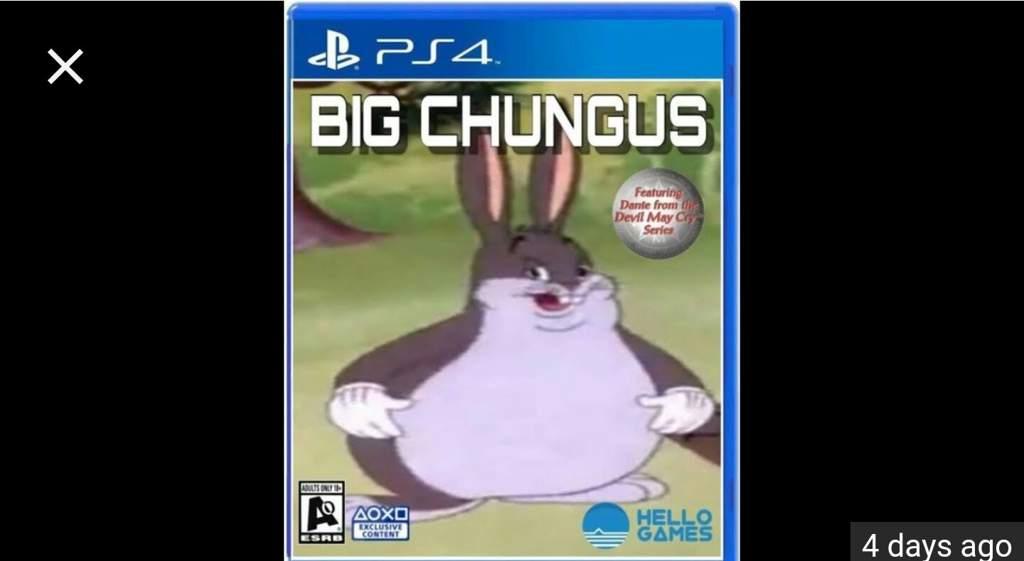Big Chungus Amino Advertising Amino