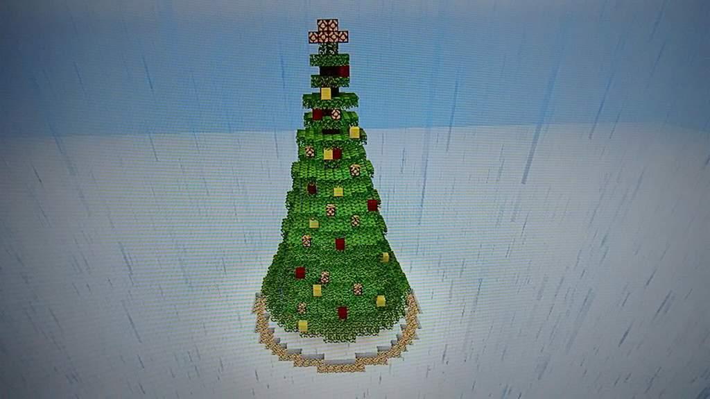 Minha Christmas Tree Minecraft Brasil Amino