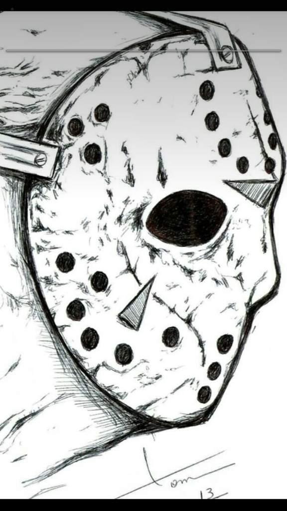 Desenho Jason Jason Alan Creepypastabr Amino