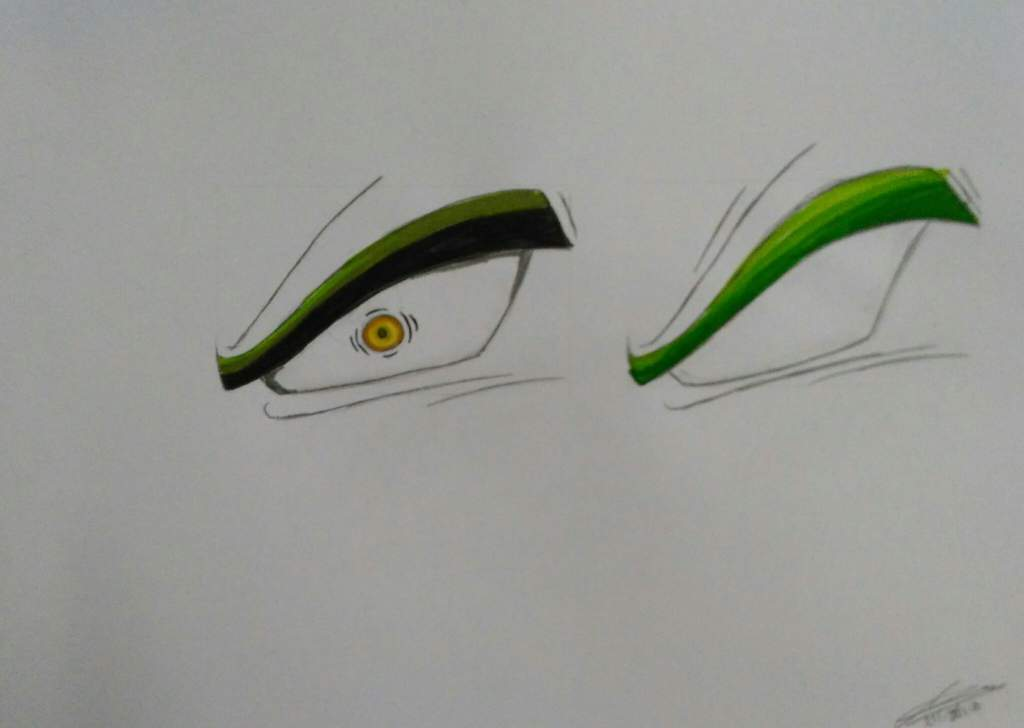 How To Draw Broly S Eyes From The Upcoming Dragon Ball Super Broly