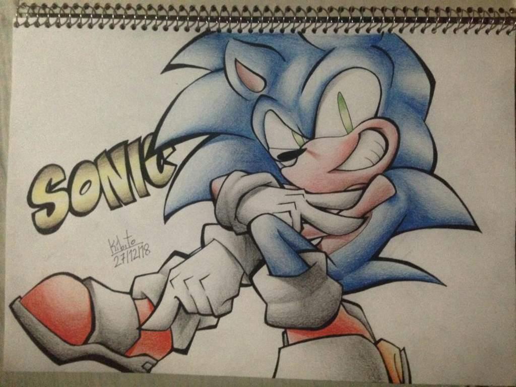 Dibujo Doble Sonic Y Metal Sonic Nintendo Amino