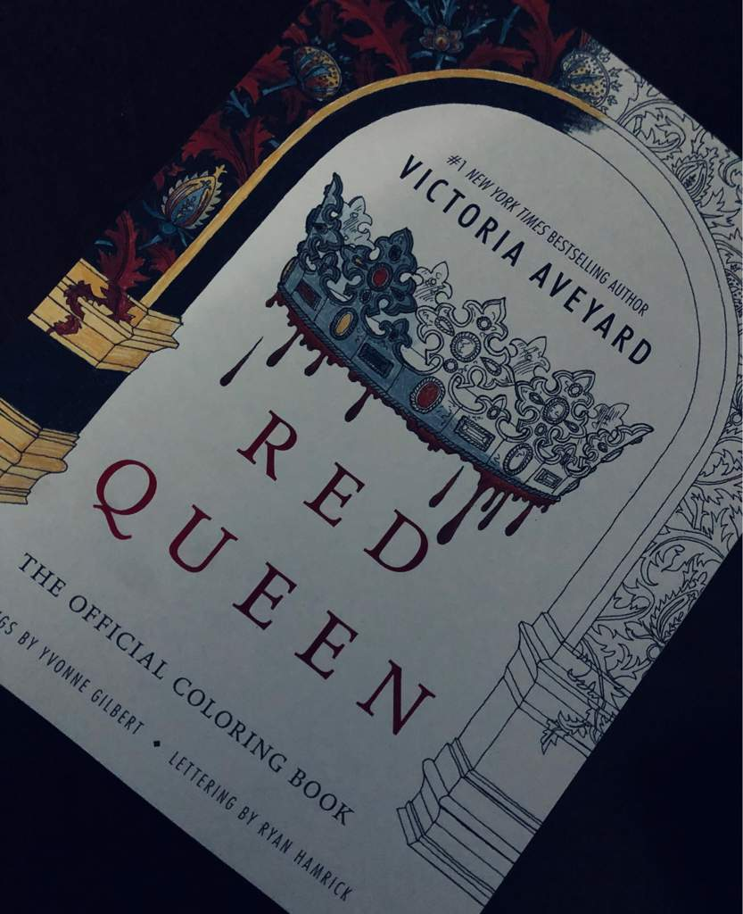 Red Queen Official Coloring Book Red Queen Community Amino