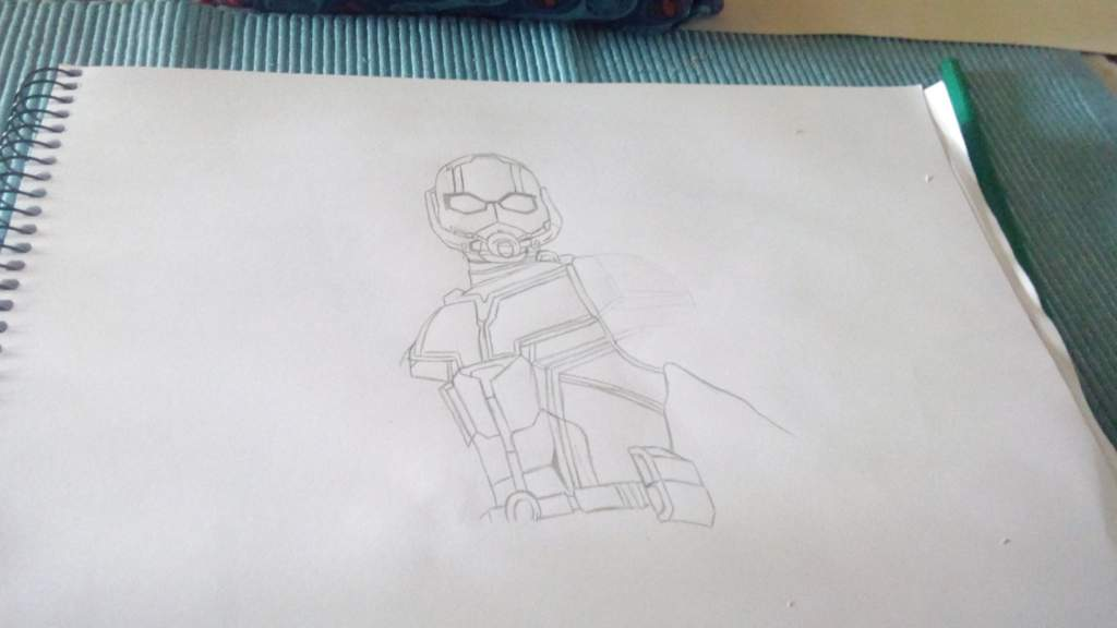 Dibujo De Ant Man El Hombre Hormiga Marvelesa Amino