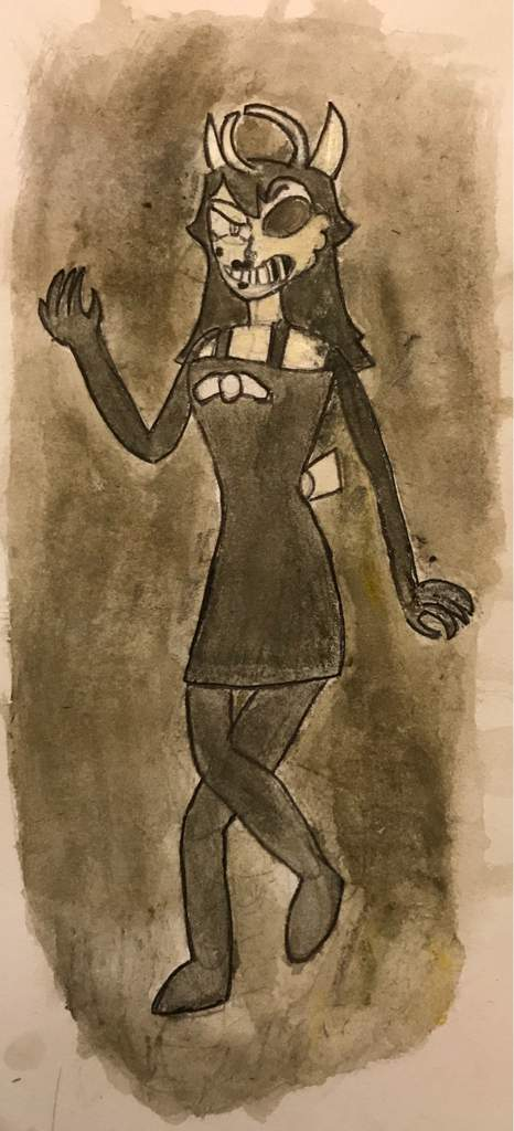 out my Water Colours by Drawing Alice Angel | Bendy and the