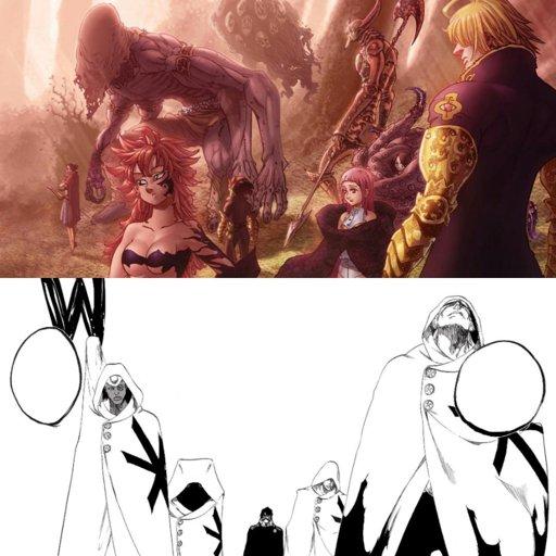 Naruto & Sasuke Vs Escanor & Meliodas